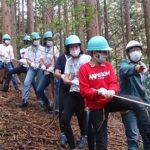フランス人子供たちの森づくり体験